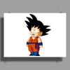 Kid Goku - Dragon Ball Super Poster Print (Landscape)