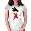 kid Goku minimalist Womens Fitted T-Shirt
