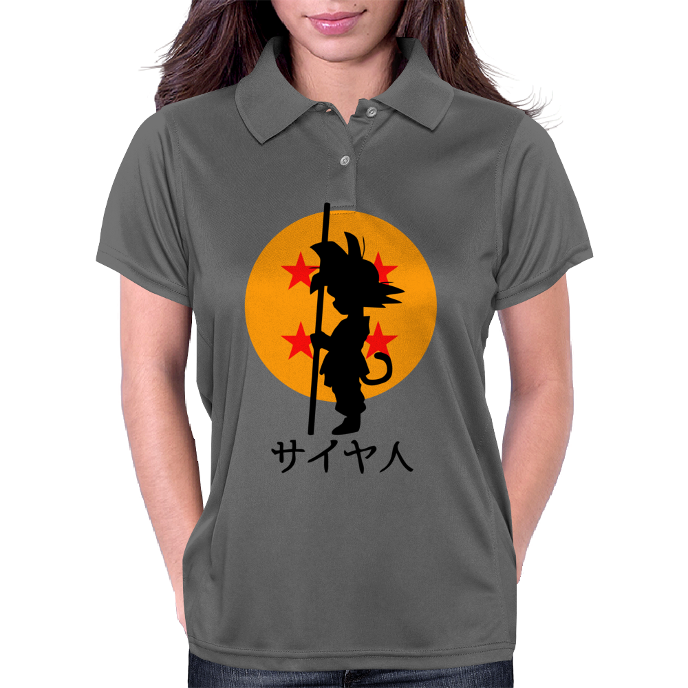 Kid Goku Womens Polo