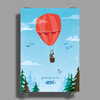 KIDS ADVENTURE – Greetings From Above Poster Print (Portrait)