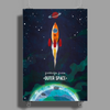 KIDS ADVENTURE – Greetings From Outer Space Poster Print (Portrait)