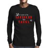 Kid's Tattooed Daddy Mens Long Sleeve T-Shirt