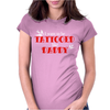 Kid's Tattooed Daddy Womens Fitted T-Shirt