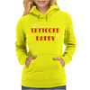 Kid's Tattooed Daddy Womens Hoodie