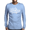 Kill The Noise Font Logo Mens Long Sleeve T-Shirt