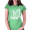 Kill The Noise Font Logo Womens Fitted T-Shirt