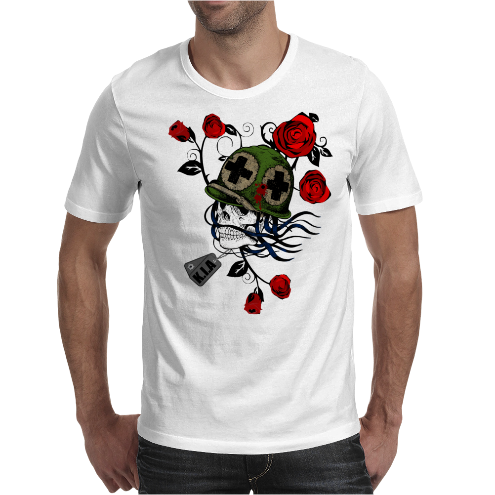 Killed In Action Mens T-Shirt
