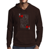 KING OF HEARTS PLAYING CARD Mens Hoodie
