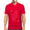 KING OF HEARTS PLAYING CARD Mens Polo