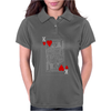 KING OF HEARTS PLAYING CARD Womens Polo