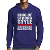King Of Strong Style Shinsuke Nakamura Japan Mens Hoodie