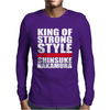 King Of Strong Style Shinsuke Nakamura Japan Mens Long Sleeve T-Shirt