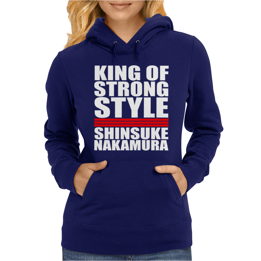 King Of Strong Style Shinsuke Nakamura Japan Womens Hoodie