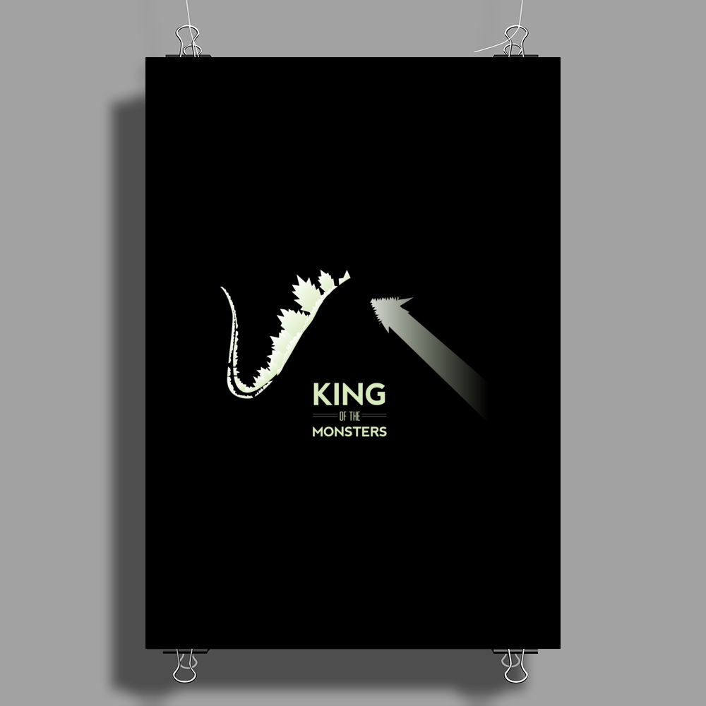 King of the Monsters Poster Print (Portrait)