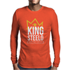 KING STEELO Mens Long Sleeve T-Shirt