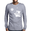 Kirby Gamer Geek SNES Mens Long Sleeve T-Shirt