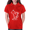 KISS ASS funny Womens Polo