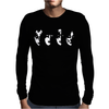 Kiss Masks Indie Rock Pop Mens Long Sleeve T-Shirt