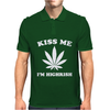 Kiss Me I'm Highrish Mens Polo