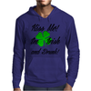 KISS ME I'M IRISH AND DRUNK Mens Hoodie