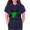 KISS ME I'M IRISH AND DRUNK Womens Polo