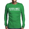KISS ME IM LESBIAN Mens Long Sleeve T-Shirt