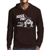 Kiss Me Really I'm a Prince Mens Hoodie