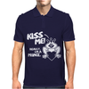 Kiss Me Really I'm a Prince Mens Polo