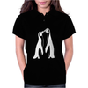 Kiss Pinguins Funny Womens Polo