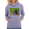 Kissing in the breeze Womens Hoodie