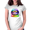 Kitty in Space Womens Fitted T-Shirt