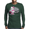 Kitty Thug Life Mens Long Sleeve T-Shirt