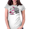 Kitty Thug Life Womens Fitted T-Shirt