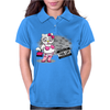 Kitty Thug Life Womens Polo