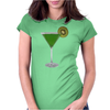 Kiwi Cocktail Womens Fitted T-Shirt
