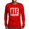 KLF Communications Men's T Shirt Black Mens Long Sleeve T-Shirt