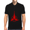 Klingon Symbol Star Trek Mens Polo