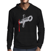 Knife blood funny Mens Hoodie