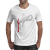 Knife blood funny Mens T-Shirt
