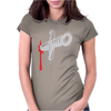 Knife blood funny Womens Fitted T-Shirt