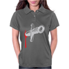 Knife blood funny Womens Polo