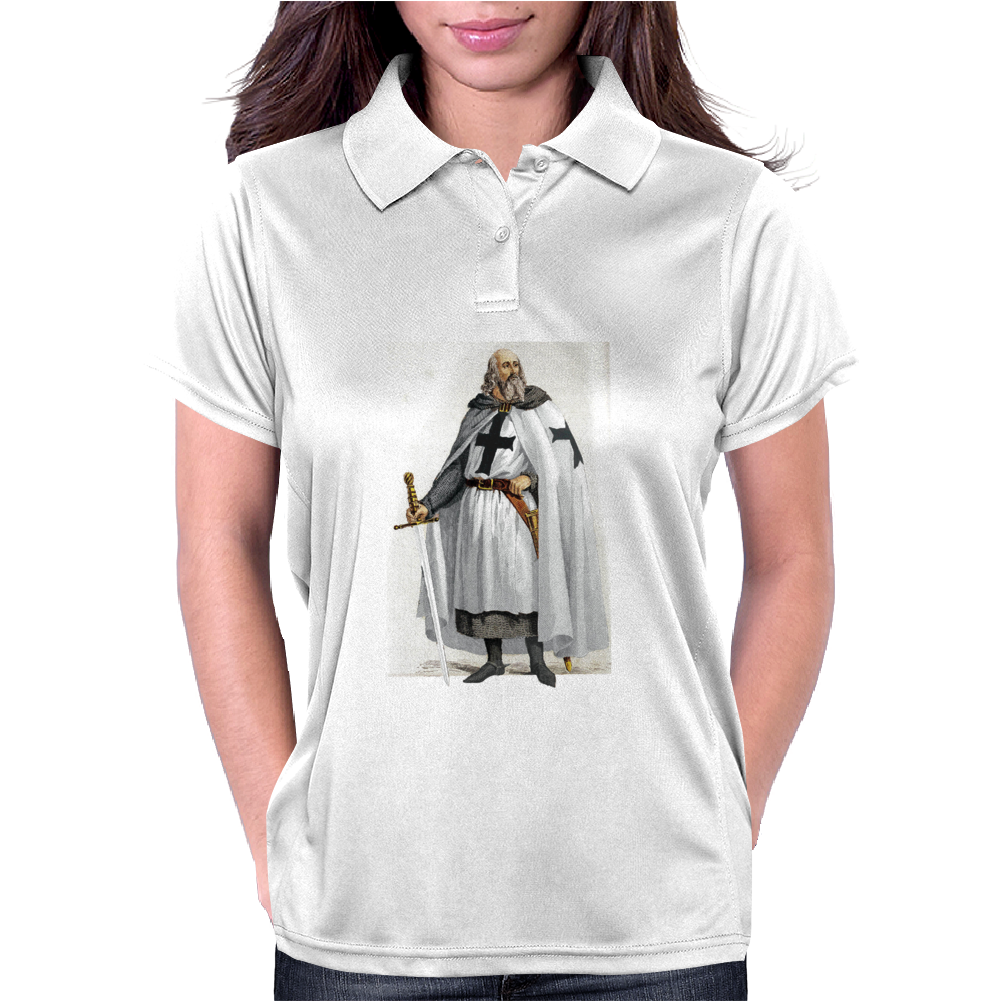 Knights Templar Jacques de Molay Womens Polo