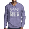 Knights Templar playing Chess Mens Hoodie