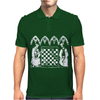 Knights Templar playing Chess Mens Polo