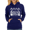 Knights Templar playing Chess Womens Hoodie