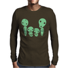 Kodama Family Ghibli Mens Long Sleeve T-Shirt