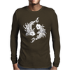 Koi Coy Fish Mens Long Sleeve T-Shirt