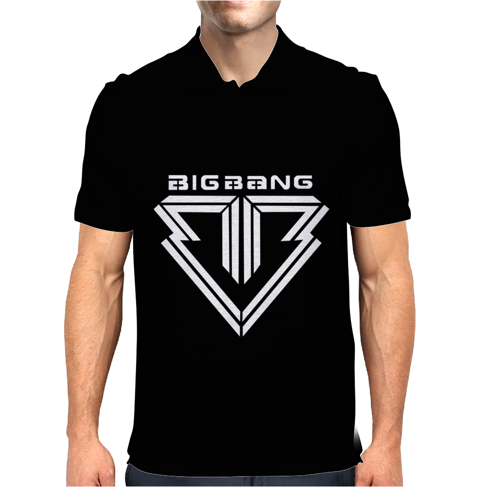 kpop Big Bang Mens Polo