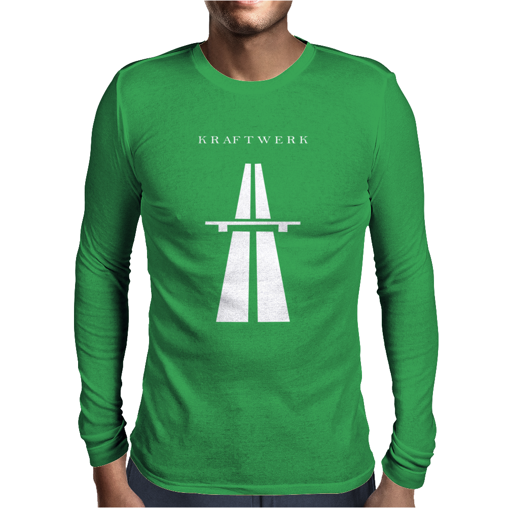 KRAFTWERK Autobahn Mens Long Sleeve T-Shirt