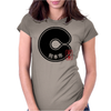 KUMAMOTO City Japanese Municipality Design Womens Fitted T-Shirt